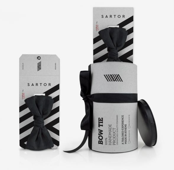 Дизайн упаковки галстука