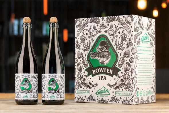 Дизайн упаковки крафтового пива