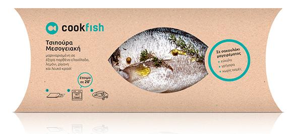 Дизайн упаковки рыбы