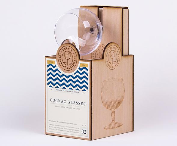 Дизайн упаковки бокалов