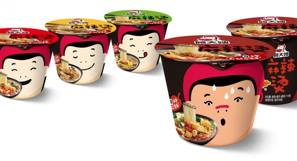 Дизайн упаковки готового обеда