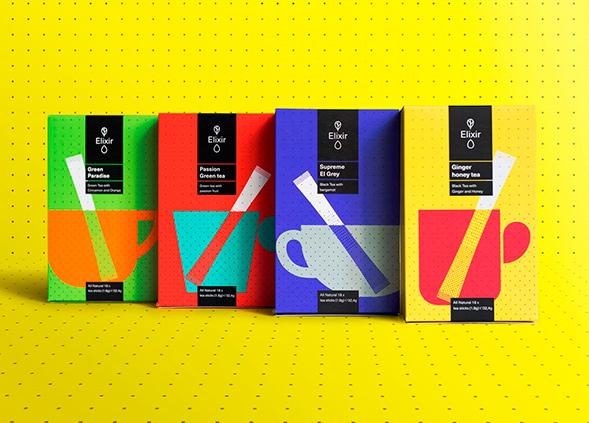 Дизайн упаковки чая