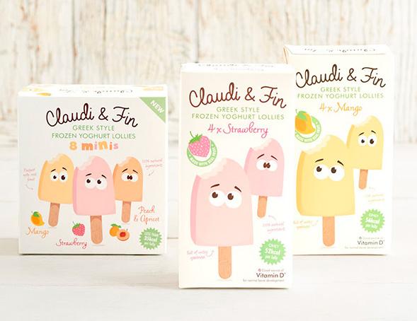 Дизайн упаковки замороженного йогурта