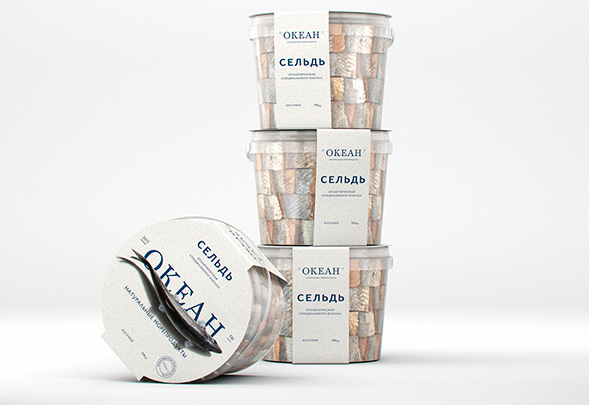 Дизайн упаковки рыбных консервов