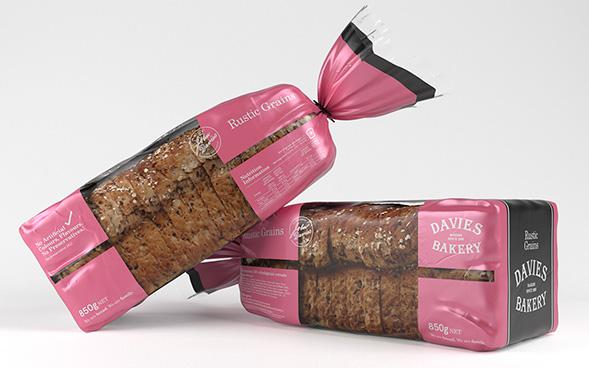 Дизайн упаковки хлеба