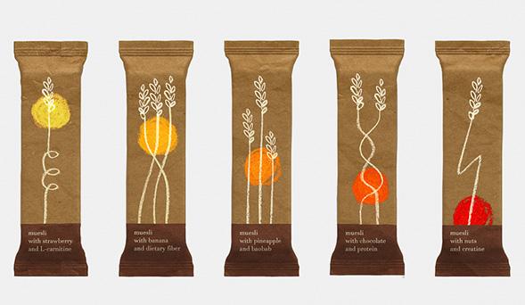 Дизайн упаковки мюсли