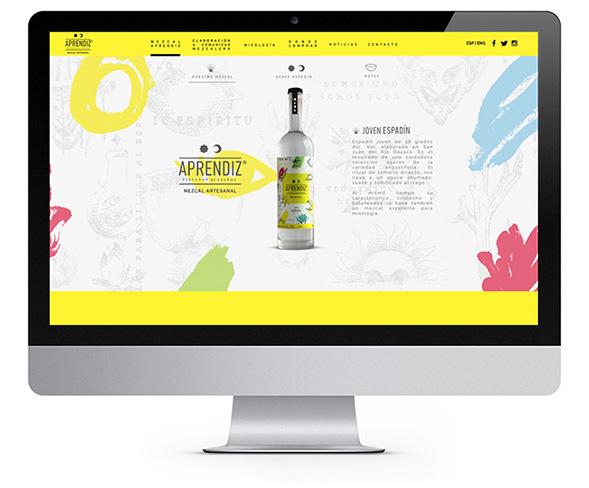 Фирменный стиль алкогольного бренда