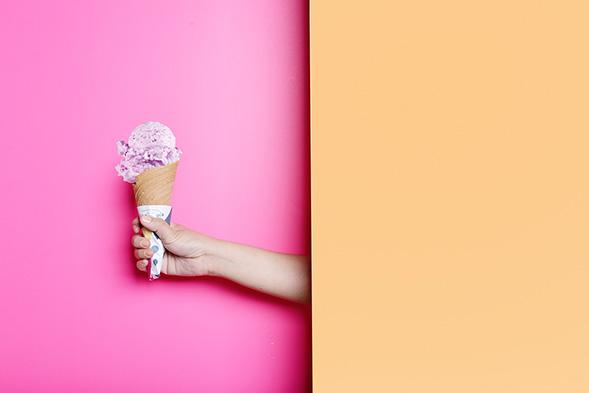 Фирменный стиль бренда мороженного