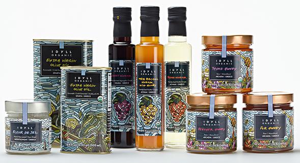 Дизайн упаковки органических продуктов