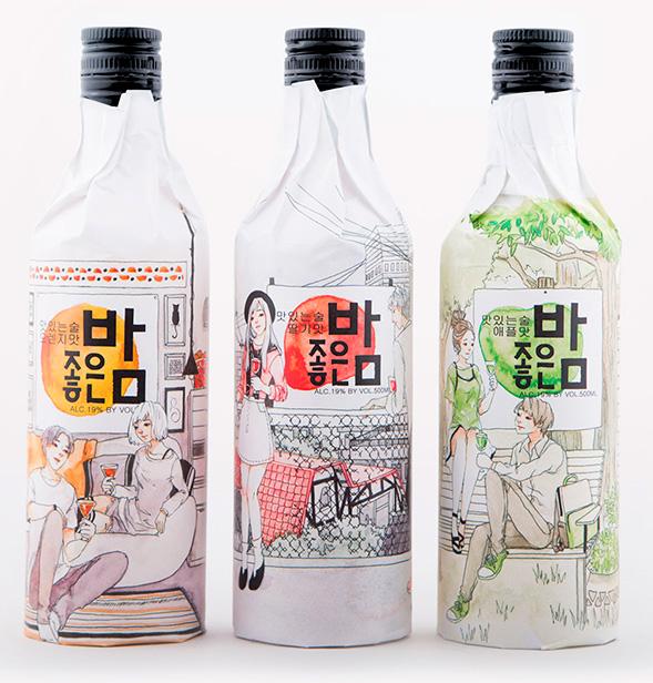Дизайн упаковки коктейлей