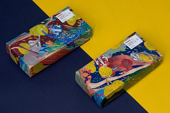 Дизайн упаковки пирожных