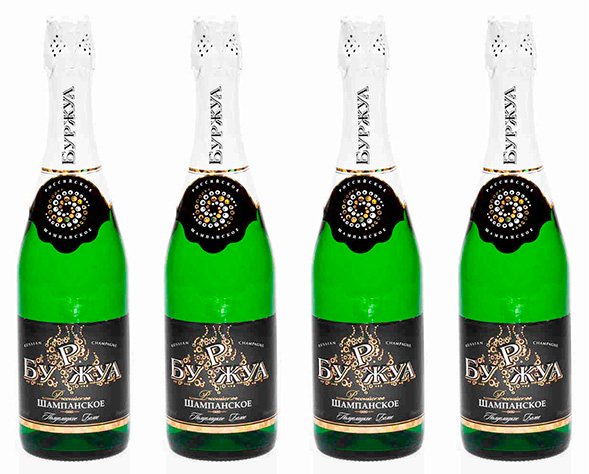 Дизайн упаковки шампанского