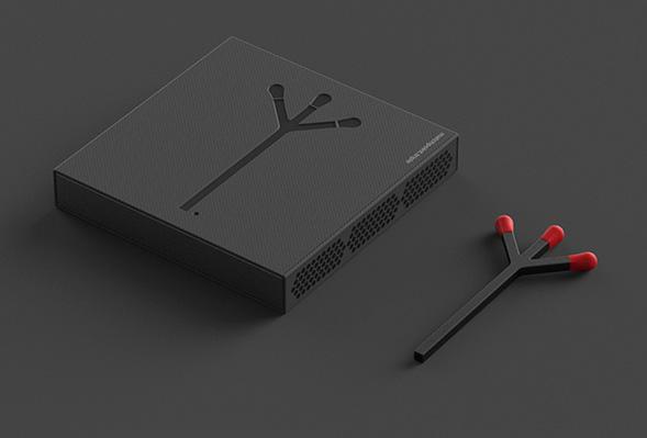 Дизайн упаковки спичек
