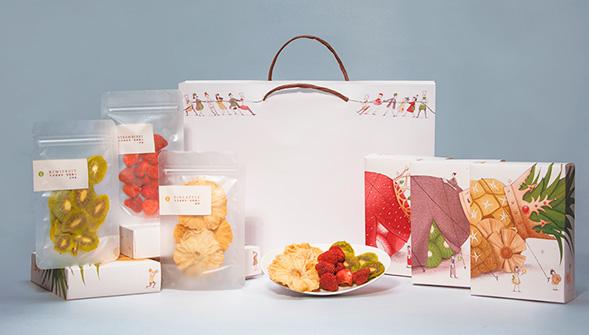Дизайн упаковки сушеных фруктов