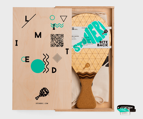 Дизайн упаковки ракетки