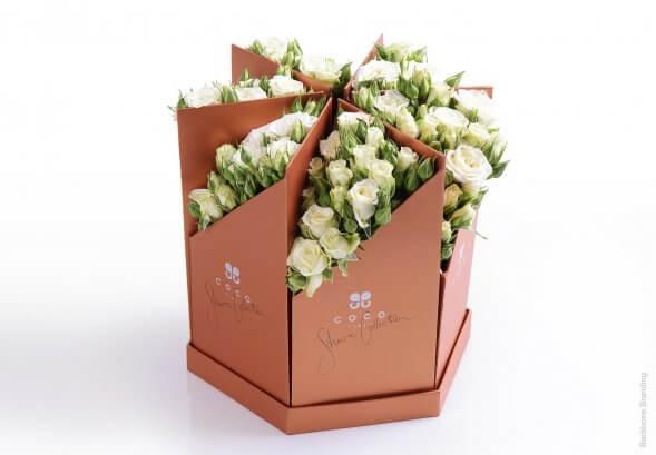 Дизайн упаковки цветов