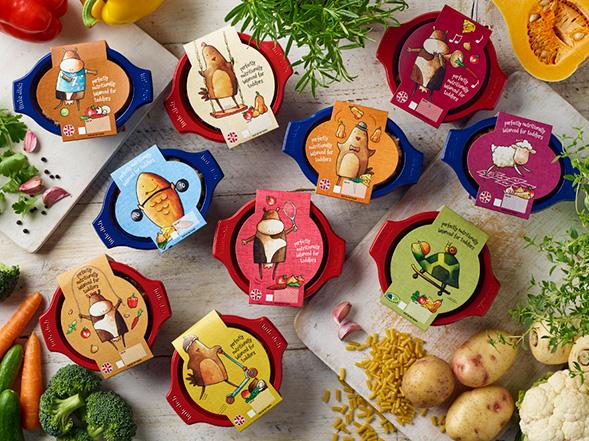 Дизайн упаковки готовых обедов