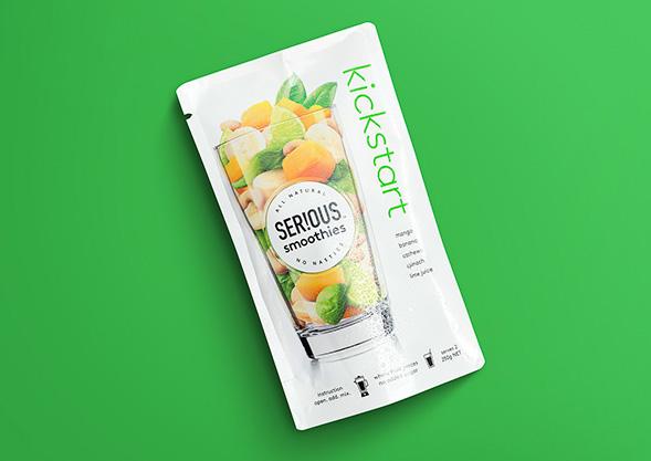 Дизайн упаковки смузи