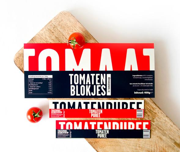 Дизайн упаковки томатной пасты