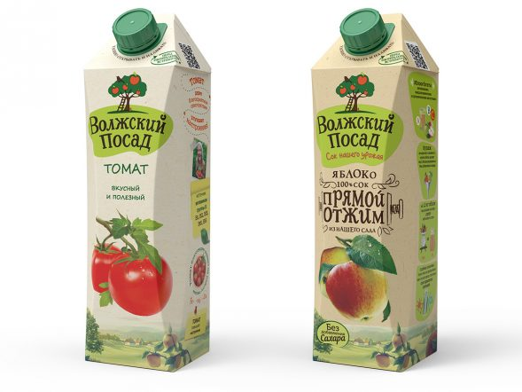 Дизайн упаковки сока