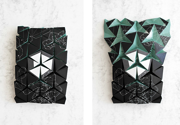Дизайн полигональной фигуры