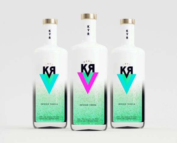 Дизайн упаковки водки и текилы