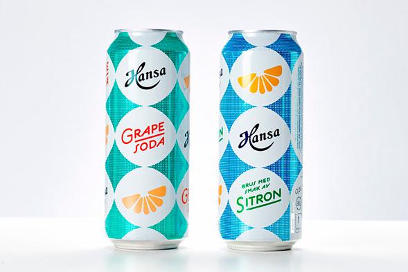 Дизайн упаковки газированных напитков