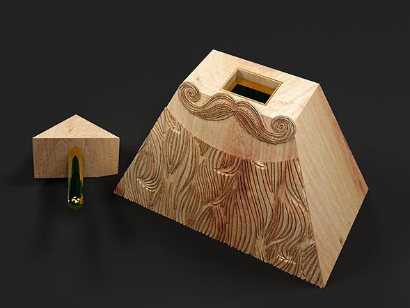 Дизайн упаковки масла для бороды