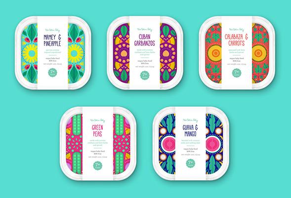 Дизайн упаковки салатов