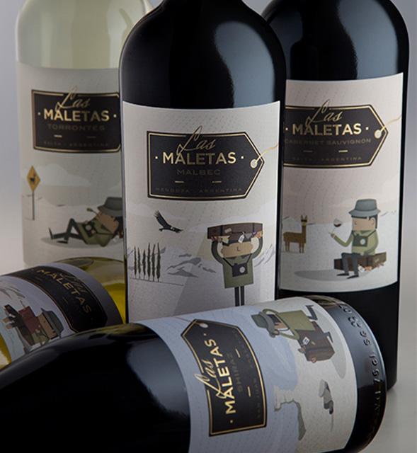 "Las Maletas by <a rel=""nofollow"" target=""_blank"" href=""http://yg-d.com/"">YG Design</a>"