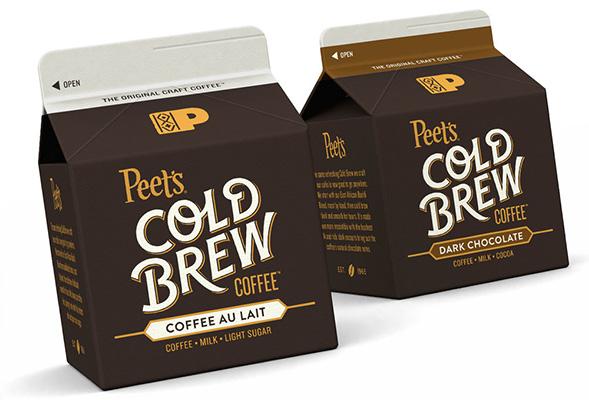 Дизайн упаковки кофейного напитка