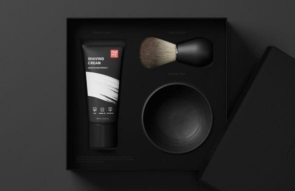 Дизайн упаковки мужской косметики