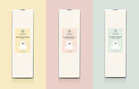 Дизайн упаковки детской косметики
