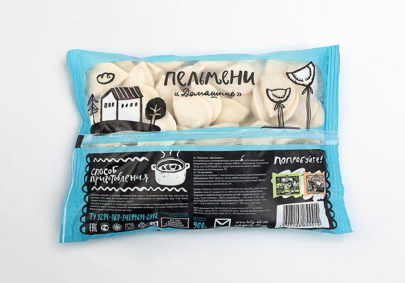 Дизайн упаковки пельменей
