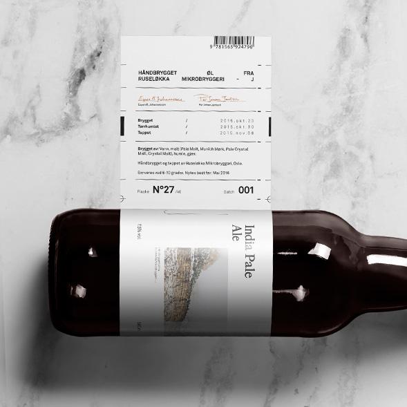 Дизайн упаковки эля