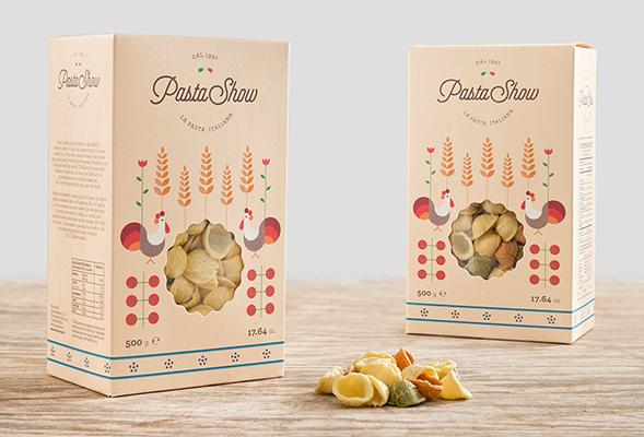 Дизайн упаковки пасты