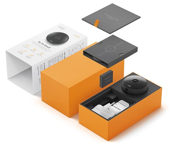 Дизайн упаковки видеокамеры