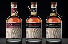 Дизайн упаковки рома