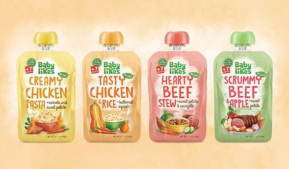 Дизайн упаковки детского питания