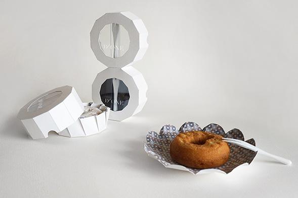 Дизайн упаковки пончиков